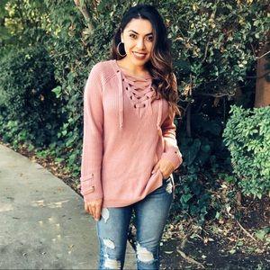 Sweaters - Pink Sweater